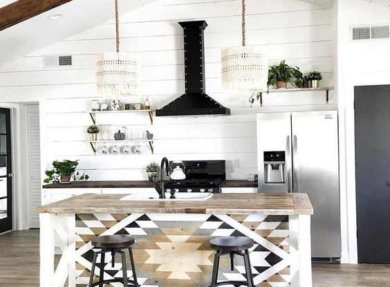 Bohemian Kitchen Design Idea