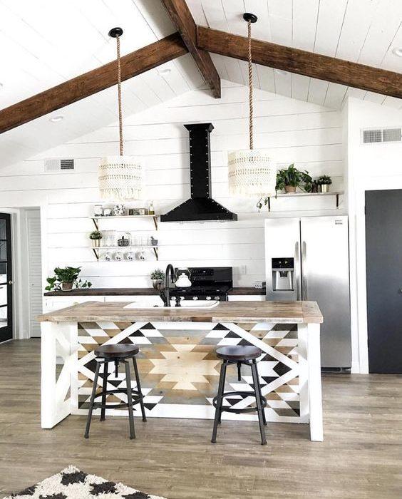 Bohemian Kitchen Design Idea