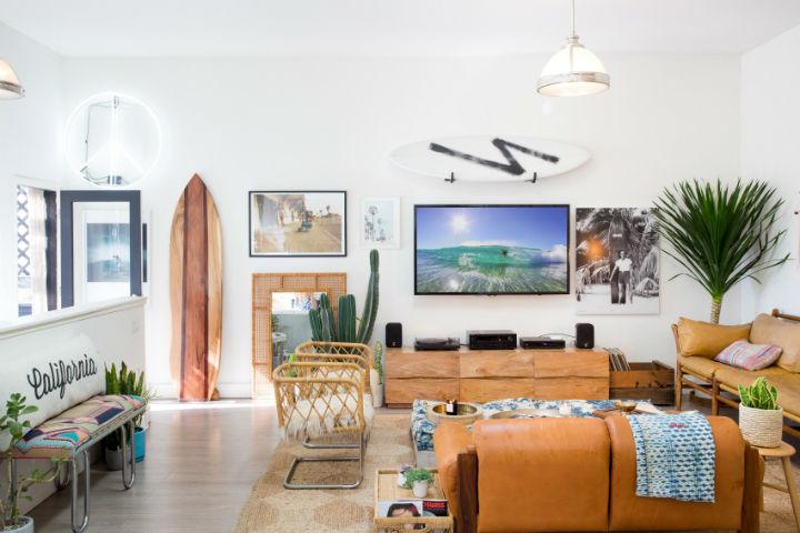 Modern Boho Interior Design 13