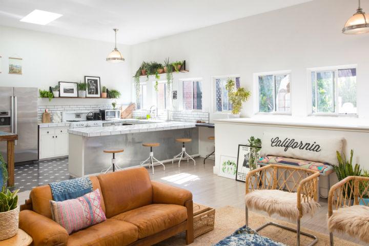 Modern Boho Interior Design 14