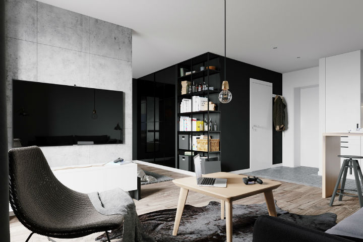 bachelor pad interior design 2