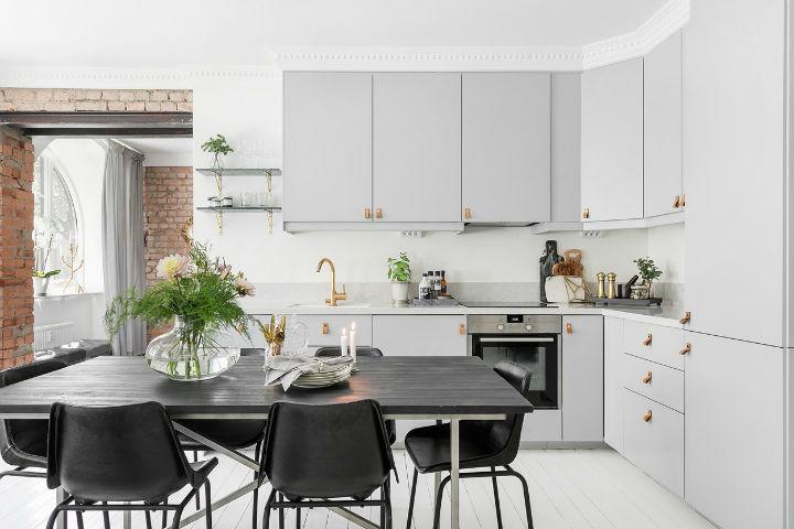 grey home interior design idea