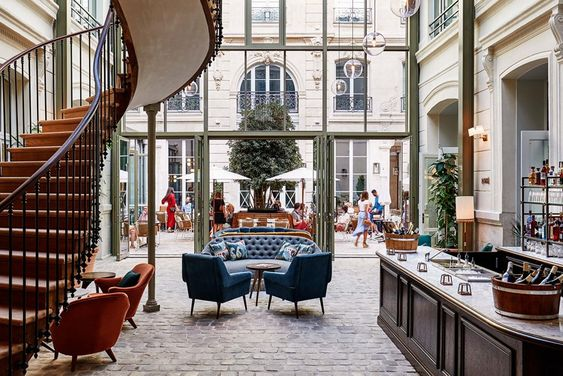 The Hoxton design hotel in Paris