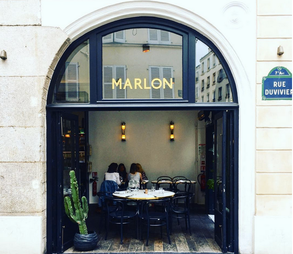 Marlon best breakfast brunch in Paris