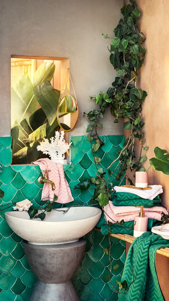 Bohemian Bathroom 2