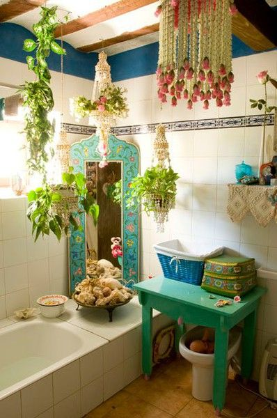 Bohemian Bathroom 12