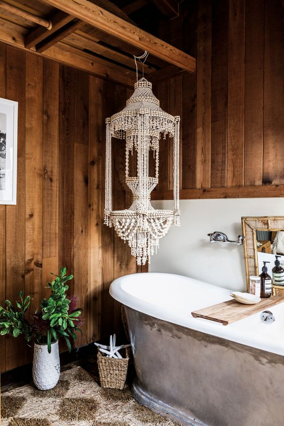Bohemian Bathroom Decor Ideas