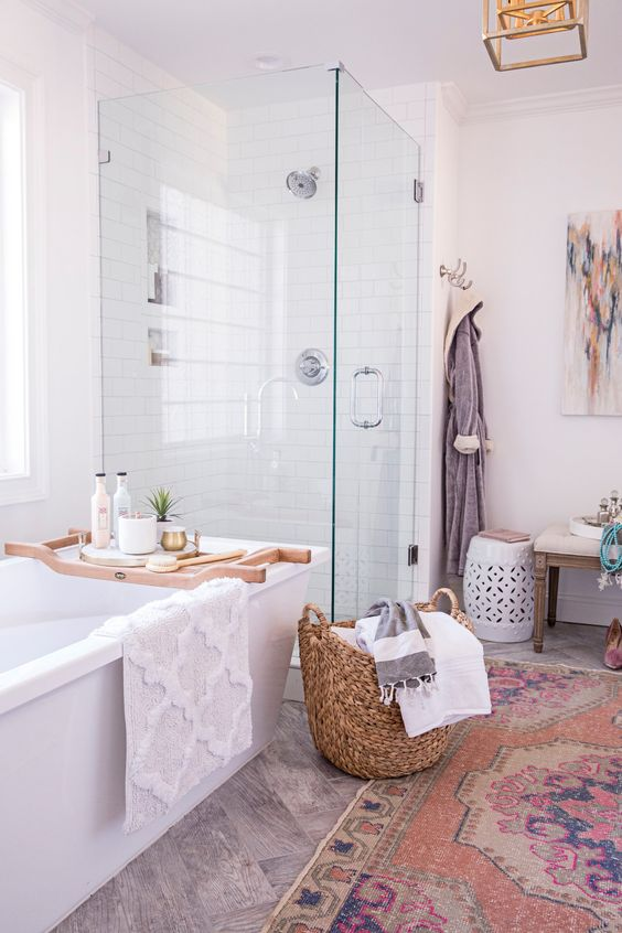 bohemian bathroom 20