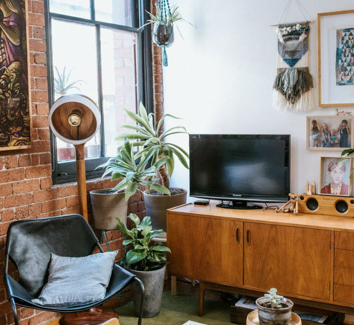 100 - Year Old Wool Mill Inspired Interior 8