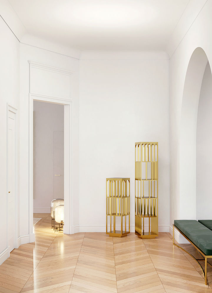 elegantly designed Parisian apartment by Crosby Studios 8