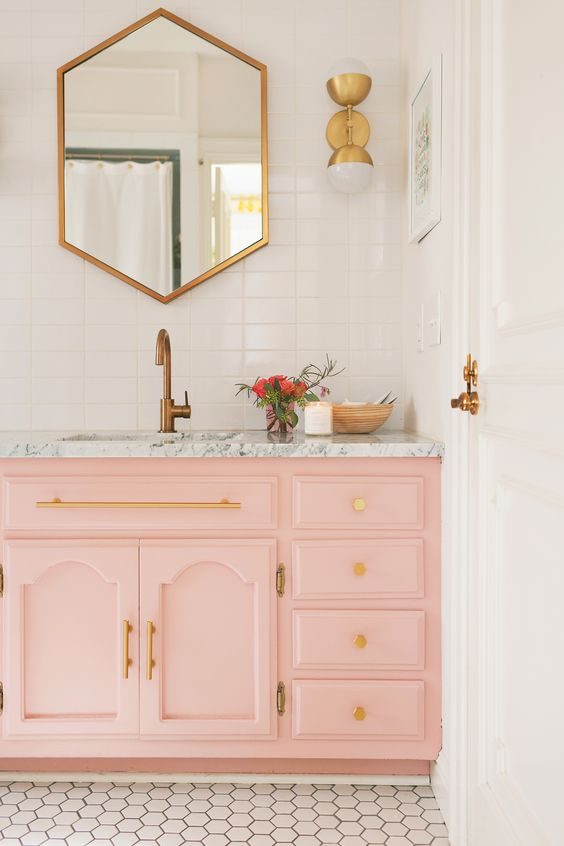 Bathroom Ideas With Gold 12
