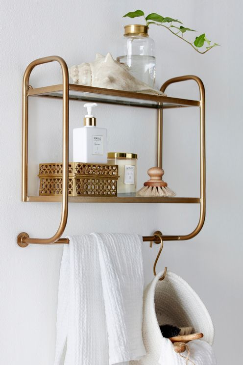 Bathroom Ideas With Gold 17