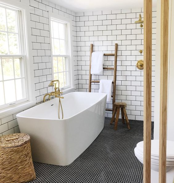 Bathroom Ideas With Gold Touches 2