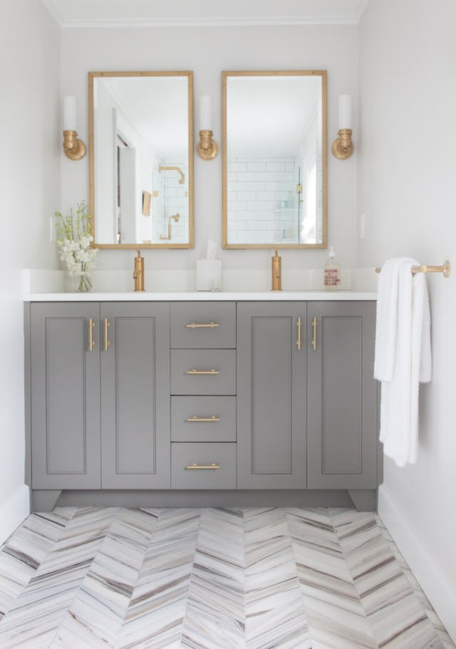 Bathroom Ideas With Gold T3