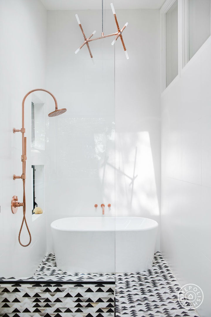Bathroom Ideas With Gold 4