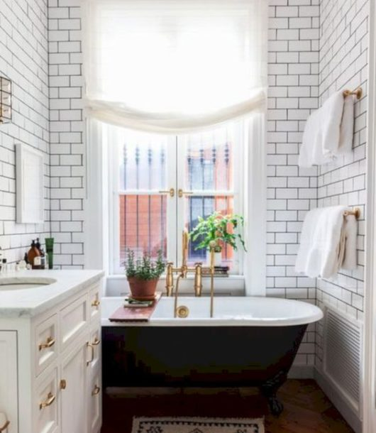 Bathroom Ideas With Gold Touches