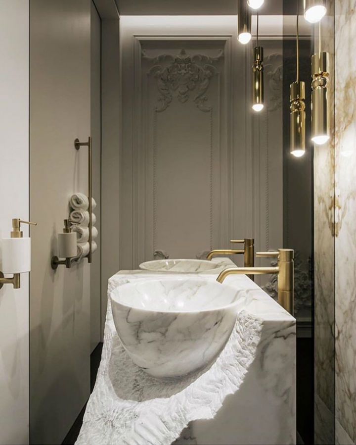 Bathroom Ideas With Gold 6