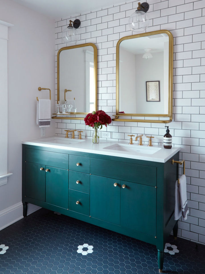 Bathroom Ideas With Gold 7