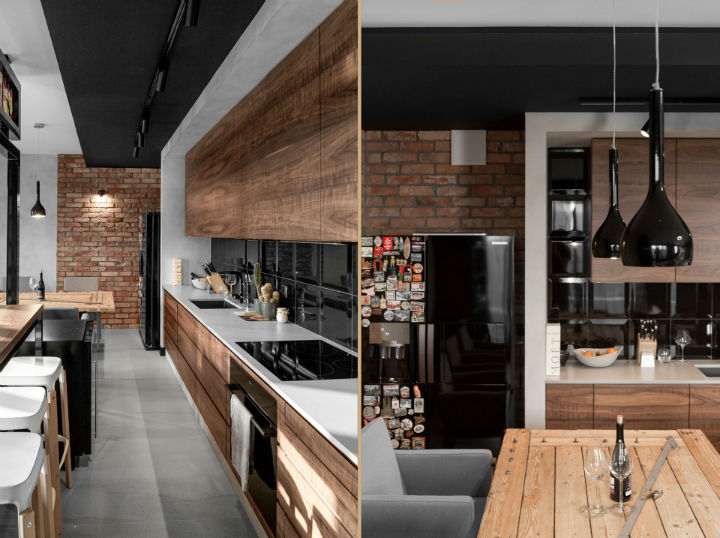interior with Brick Walls and Elegant Structures 10