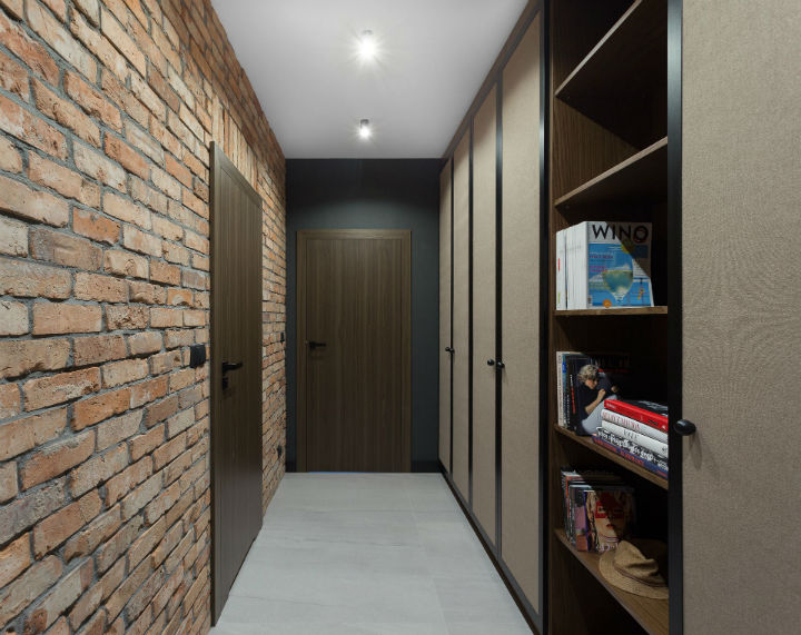 interior with Brick Walls and Elegant Structures 13