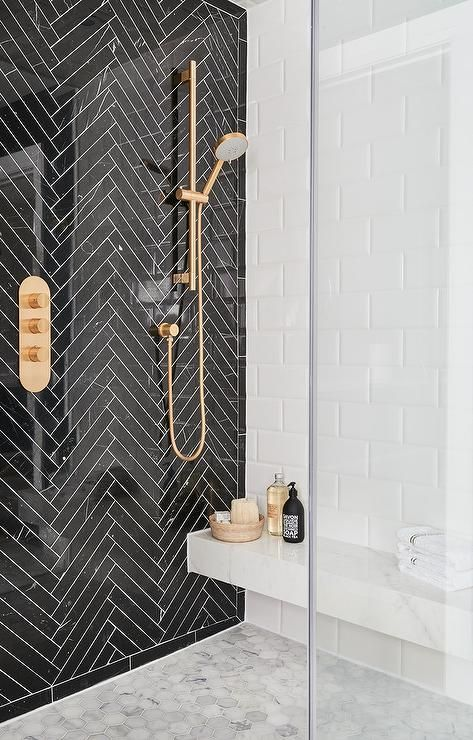 Bathroom Ideas With Gold Touches 27