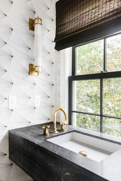 gold bathroom idea 56