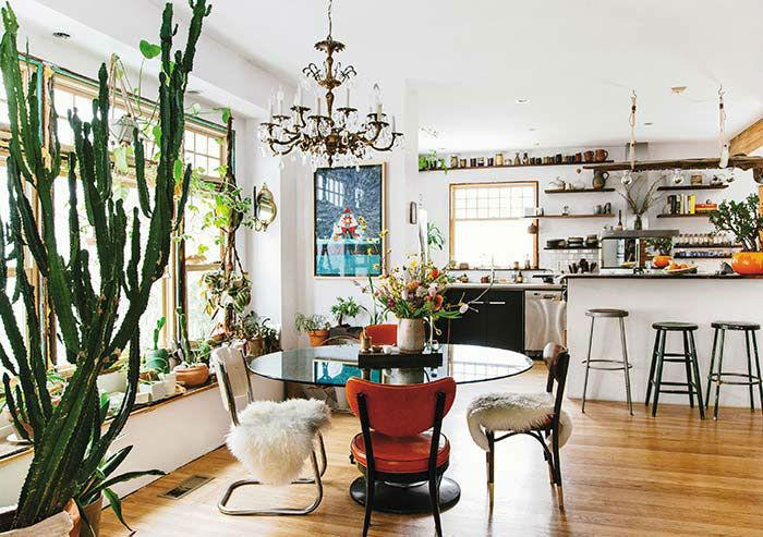 modern bohemian interior design 2