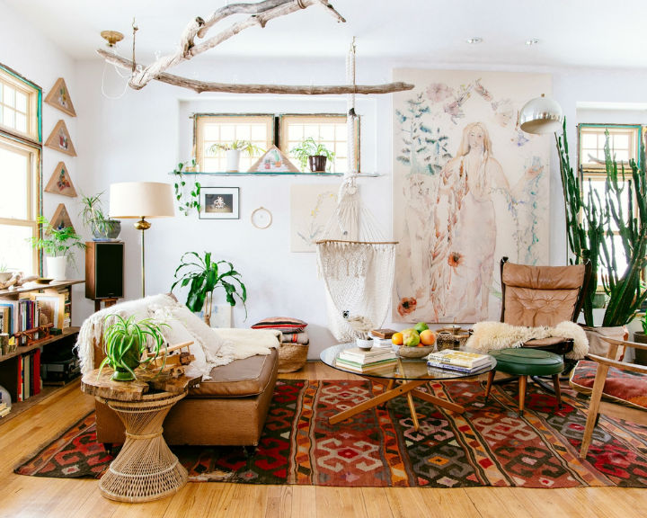 modern bohemian interior design 4