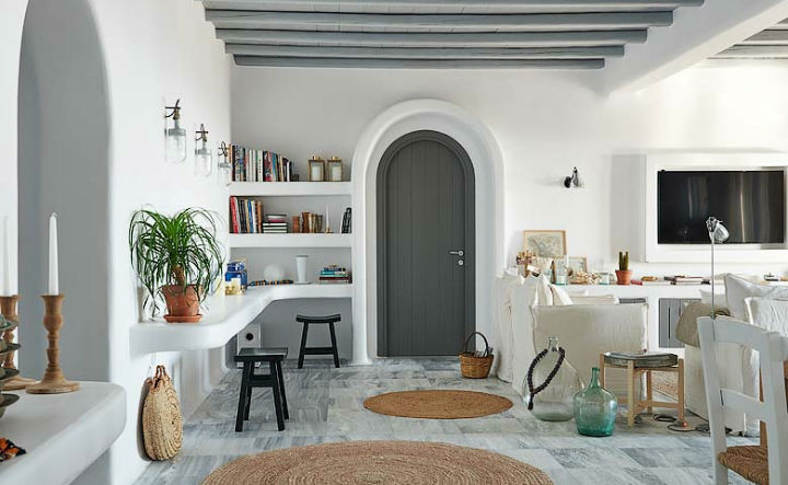 Contemporary Design With a Traditional Greek Ambience