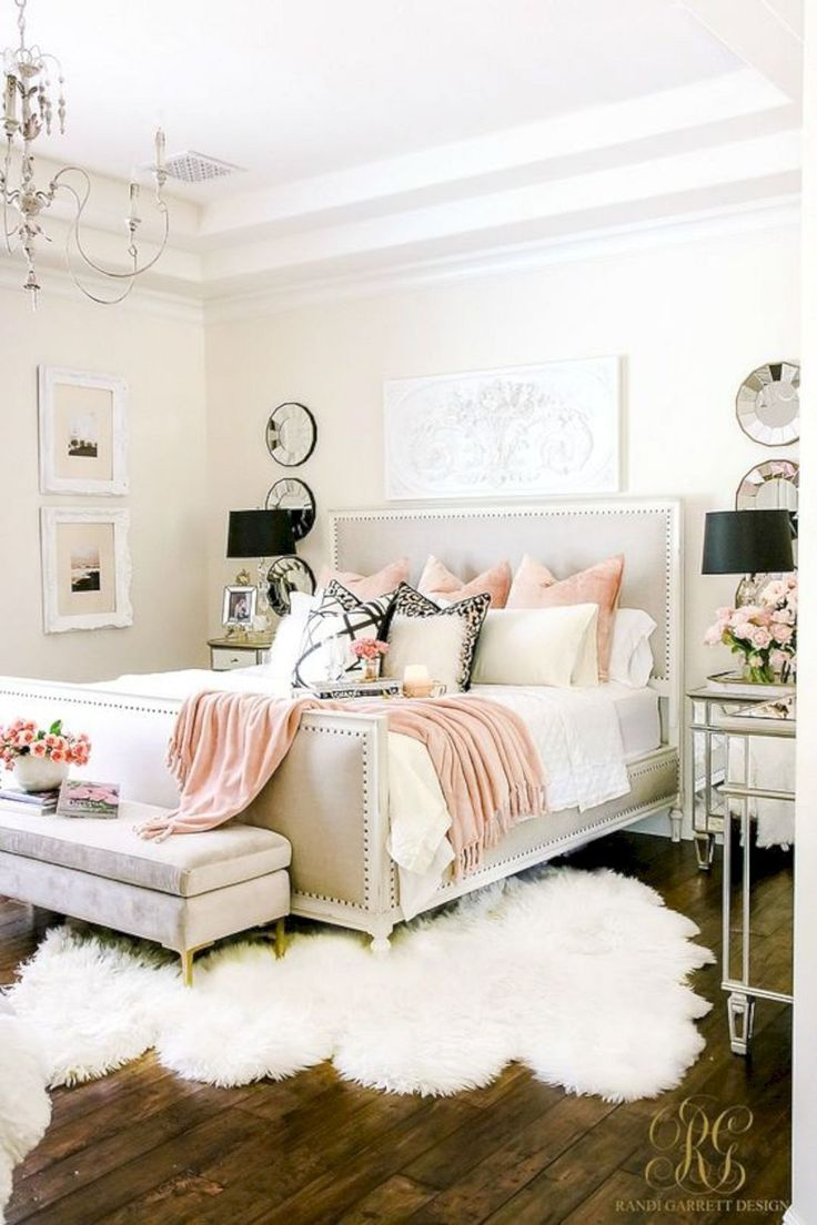 romantic girly bedroom design idea