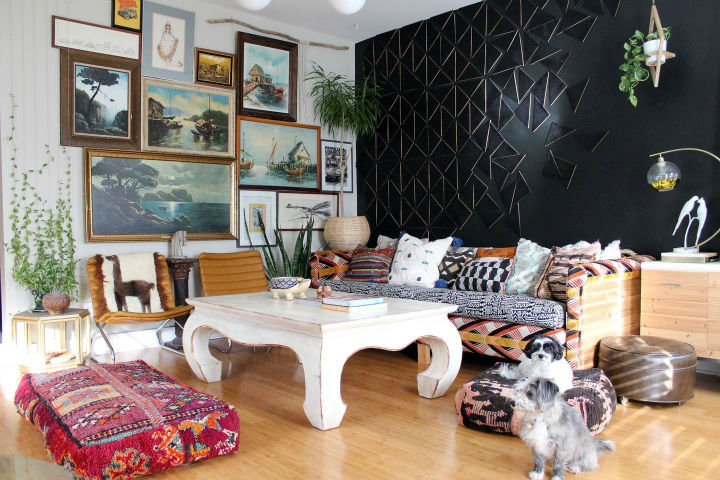 An Eclectic Bohemian Jungle Decoholic