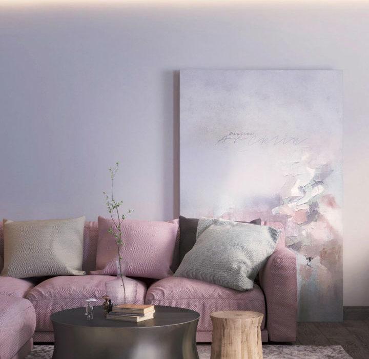 Beautiful Contemporary Feminine Apartment