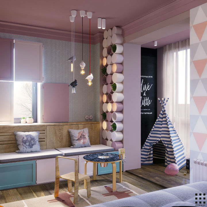 Beautiful Contemporary Feminine Apartment 22