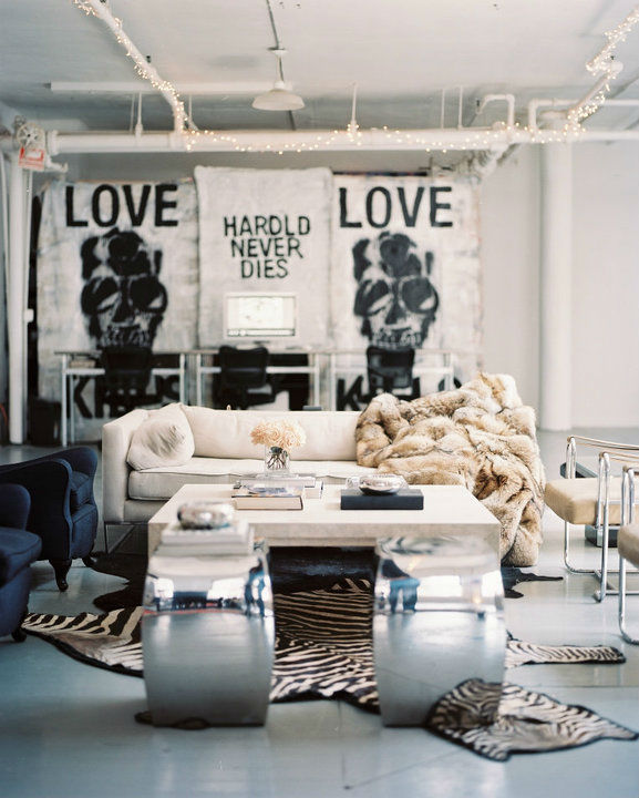Old-World Romance and Urban Cool Interiors by Ryan Korban 13