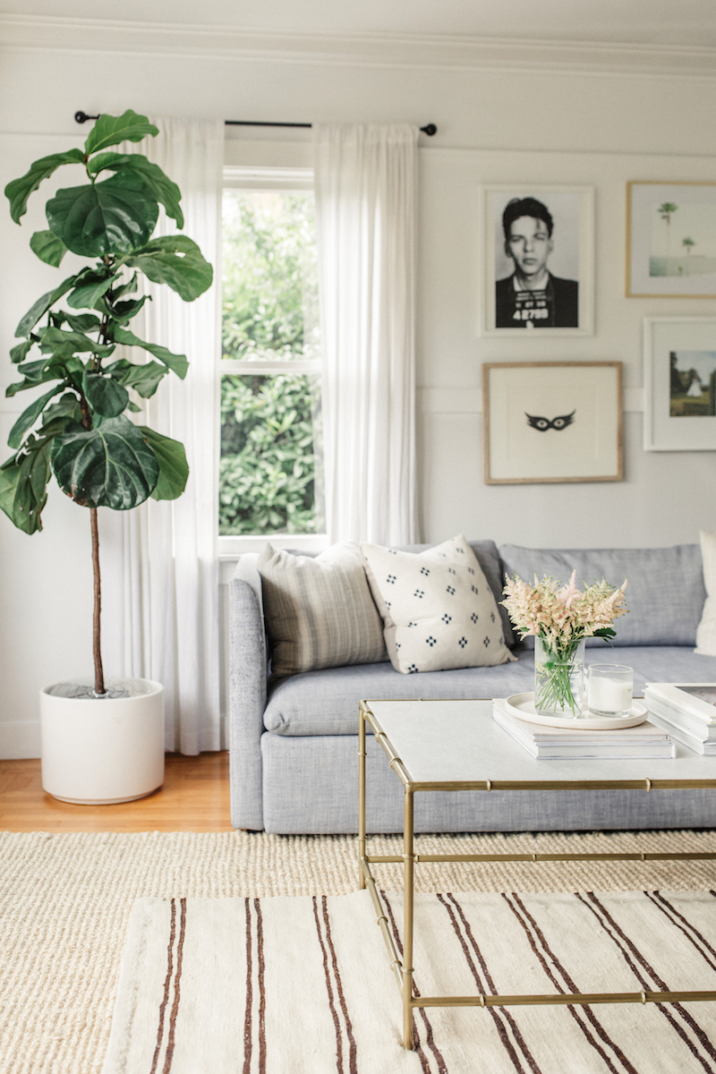 Calm And Serene Living-Space
