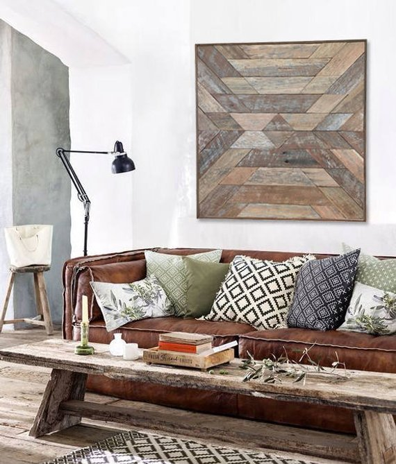 Wall Decor Idea: Wood Wall Art 2