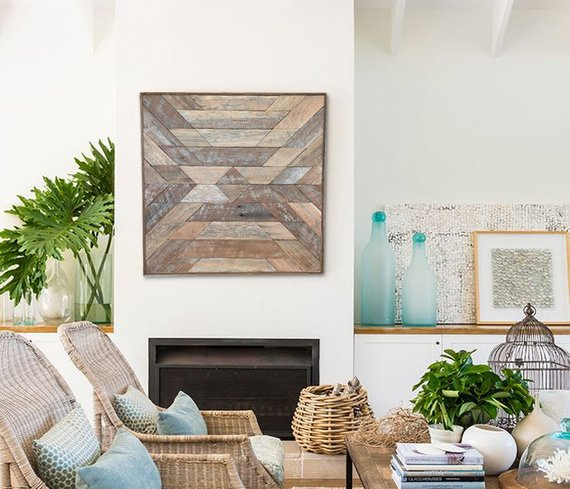 Wall Decor Idea: Wood Wall Art 3