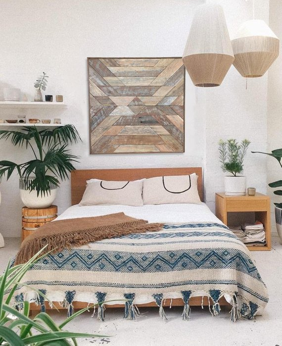Wall Decor Idea: Wood Wall Art