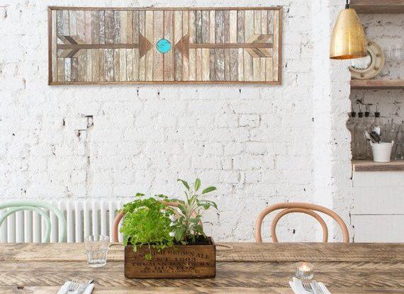 Wall Decor Idea: Wood Wall Art 7