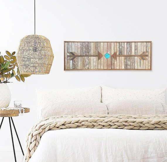 Wall Decor Idea: Wood Wall Art 8