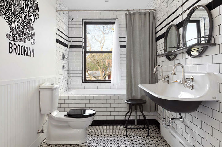 Clinton Hill Townhouse Light Airy Aesthetic 10