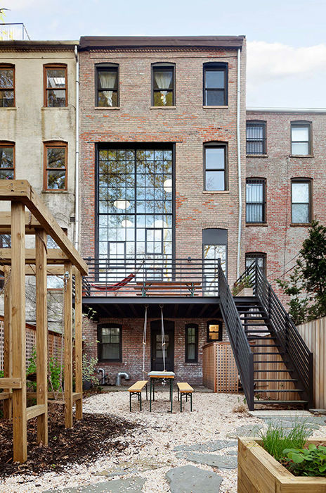 Clinton Hill Townhouse Light Airy Aesthetic 13