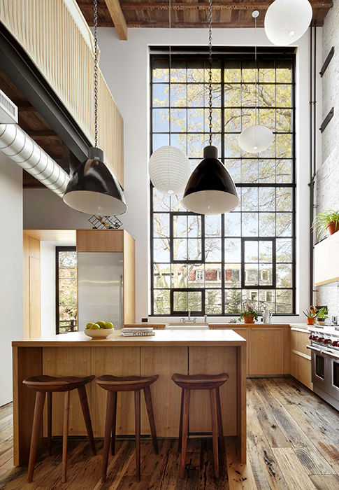 Clinton Hill Townhouse Light Airy Aesthetic 4