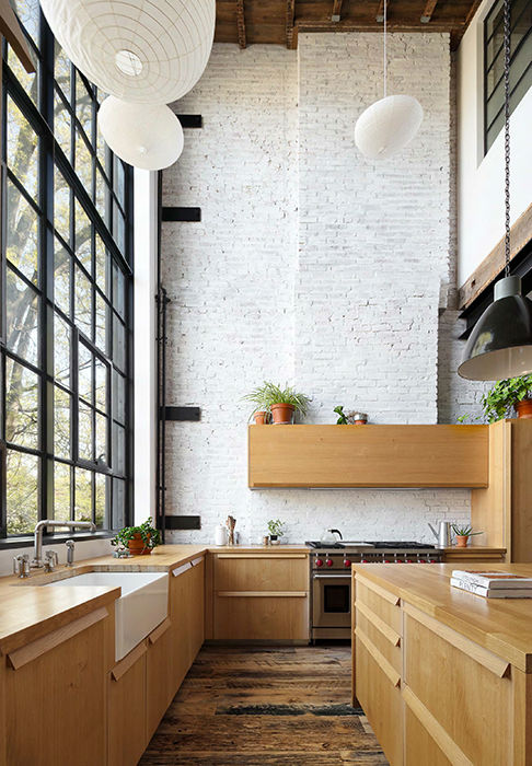 Clinton Hill Townhouse Light Airy Aesthetic 5