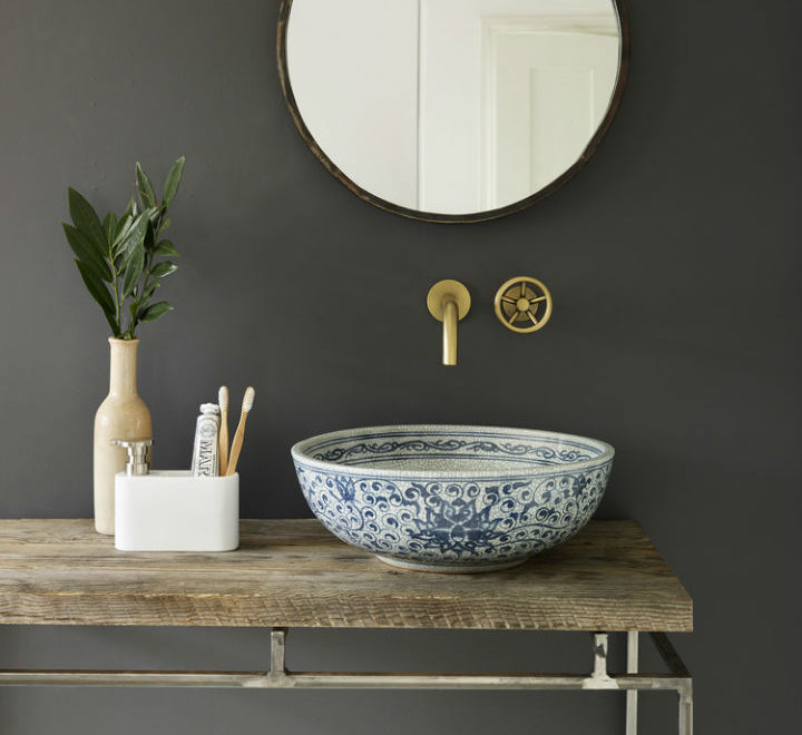 Handmade Porcelain Basins