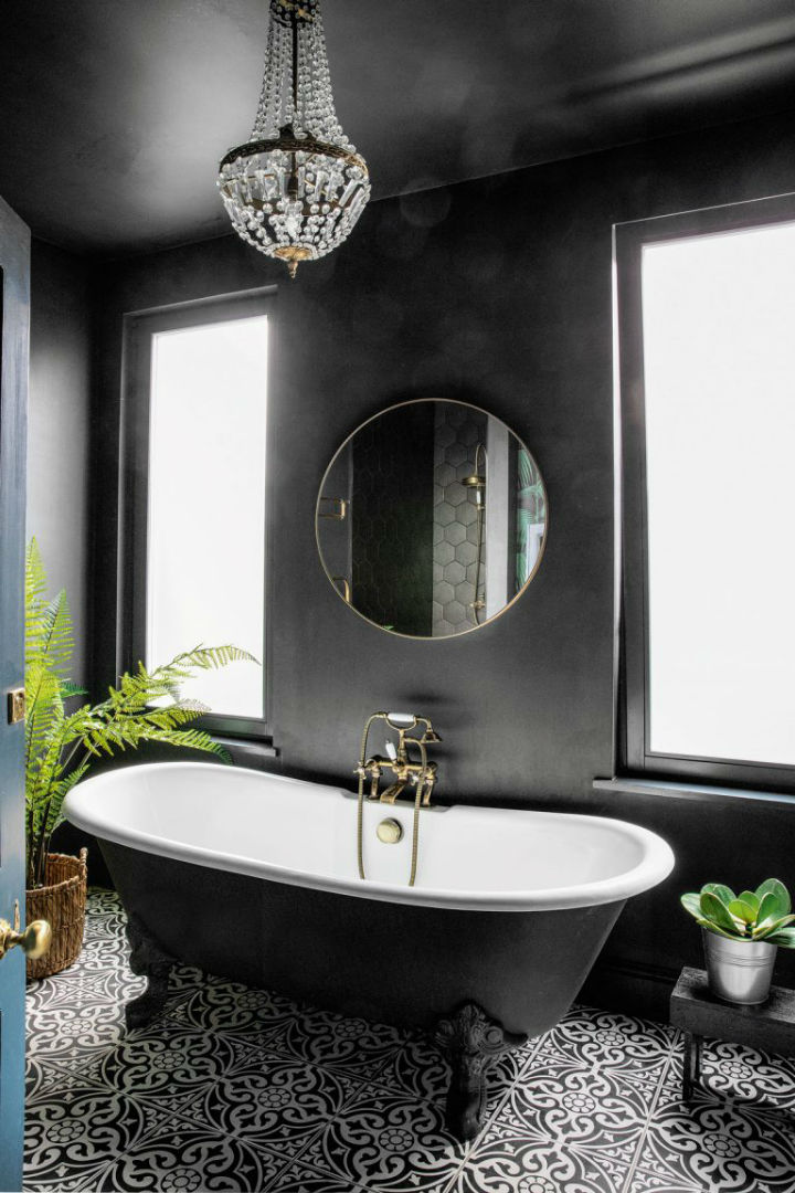 dramatic home style interior design 14