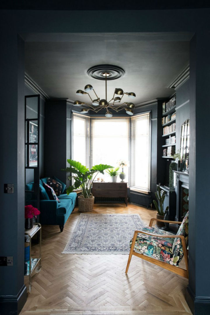 dramatic home style interior design 7
