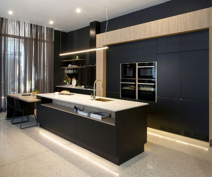 Industrial Meets Deco In This Kitchen Design 5