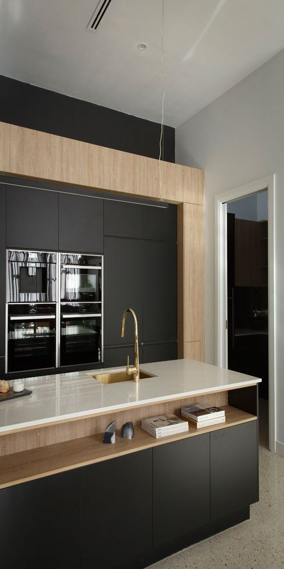 Industrial Meets Deco In This Kitchen Design