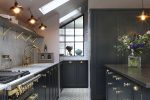 Amazing Kitchen Design With Touches Of Gold